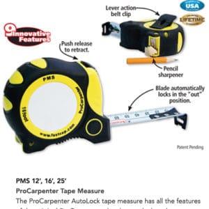 ProCarpenter Tape Measure