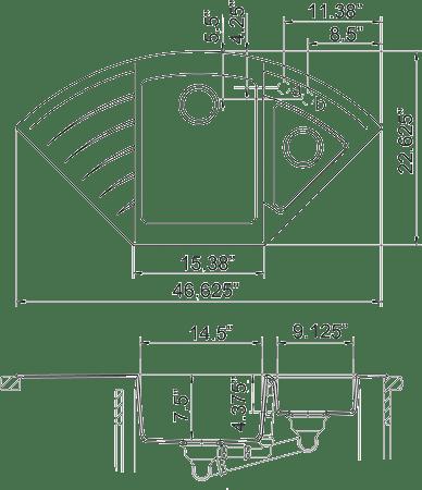 Q4222D - quartz sink measurement