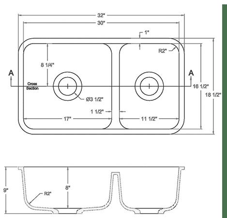 GEM-3016D solid surface sink measurement
